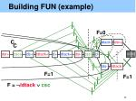 building fun example