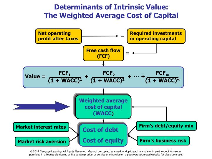 Determinants of Intrinsic Value:
