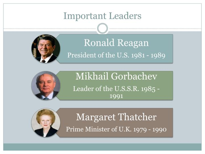 Important Leaders