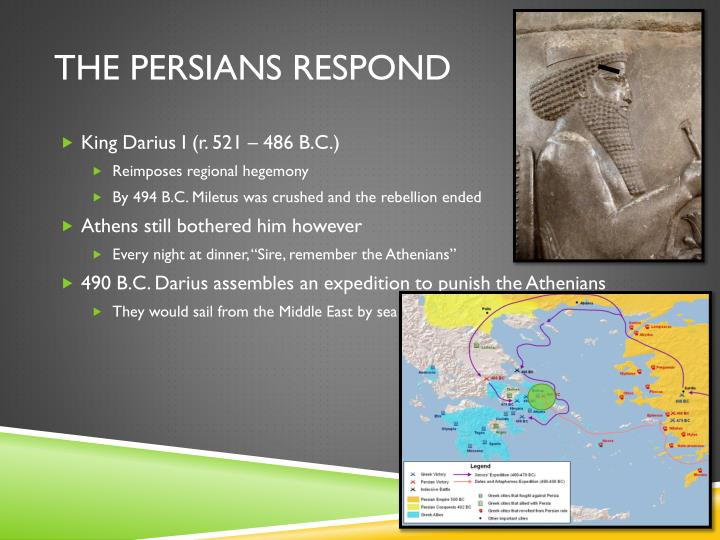 The Persians Respond