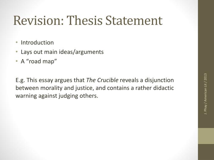 thesis statement revisions Thesis statement revision visit the post for more.