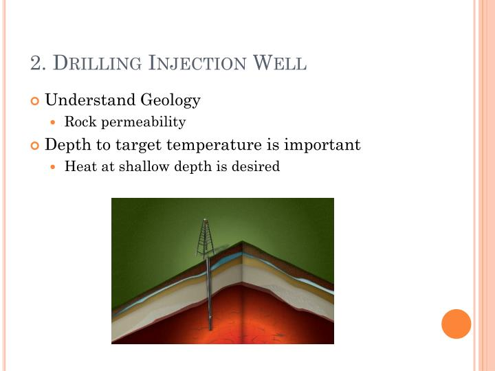 2. Drilling Injection Well