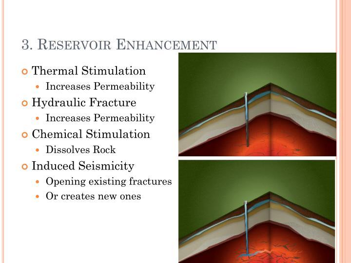 3. Reservoir Enhancement