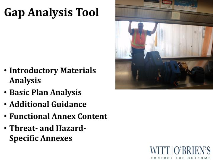 Gap Analysis Tool
