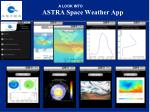 astra space weather app