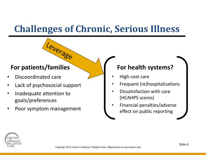 Challenges of Chronic, Serious Illness