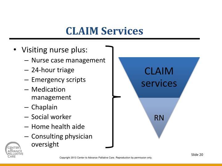 CLAIM Services
