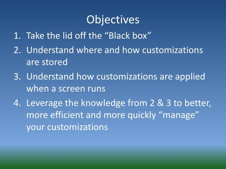 """Take the lid off the """"Black box"""""""