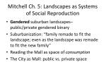 mitchell ch 5 landscapes as systems of social reproduction1