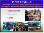 organisation education sant