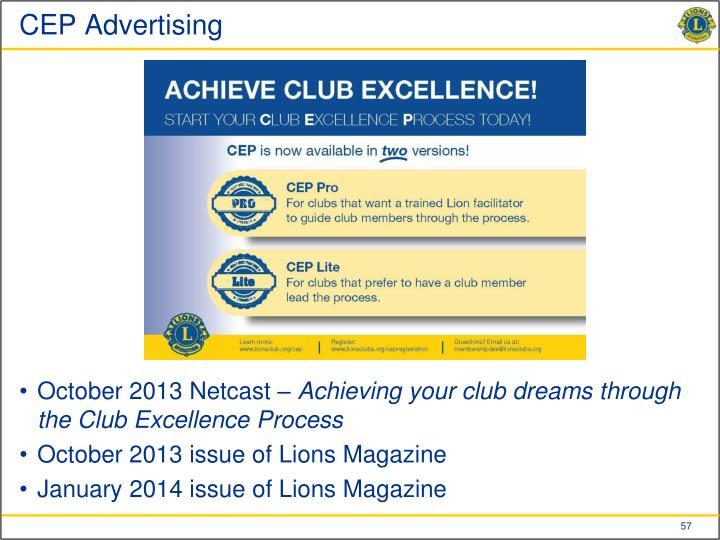 CEP Advertising