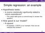 simple regression an example2