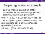 simple regression an example3