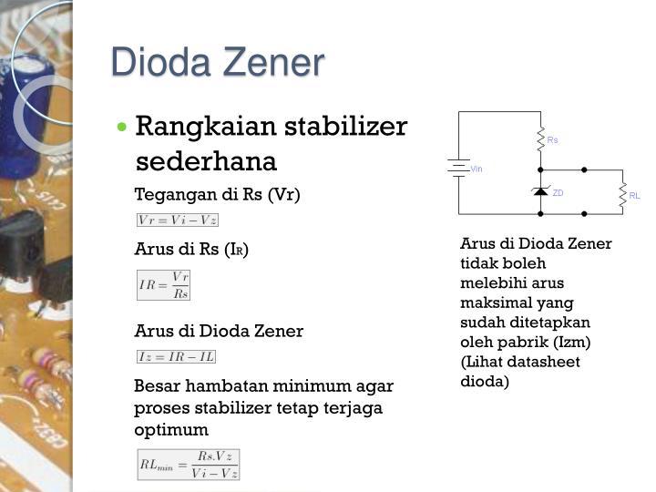 Dioda Zener