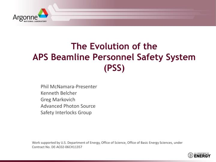 The evolution of the aps beamline personnel safety system pss