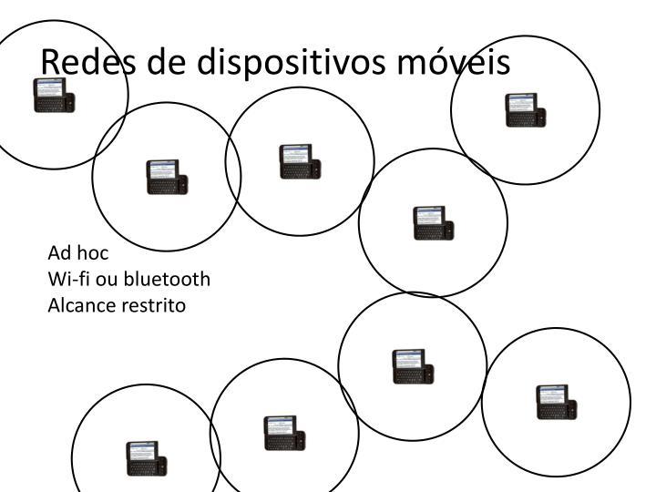 Redes de dispositivos móveis