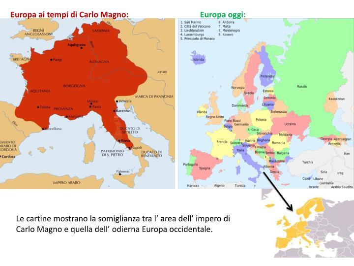 Europa ai tempi