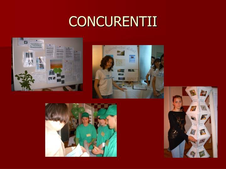 CONCURENTII