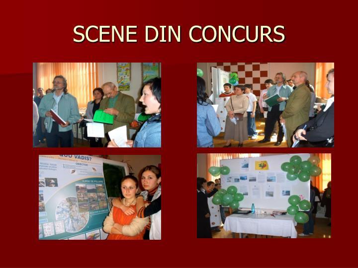 SCENE DIN CONCURS