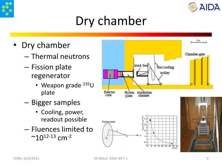 Dry chamber