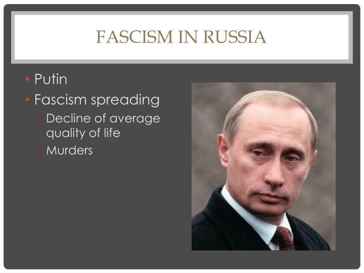 Fascism in Russia