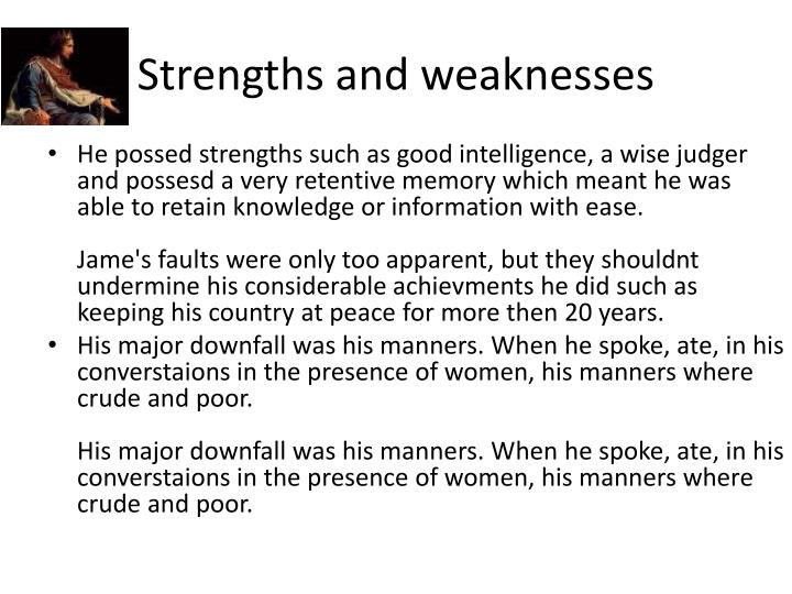 faults and strengths macbeth Faults and strengths of macbeth essay the tragic flaws of macbeth in the poetics  sign up to view the whole essay and download the pdf for anytime access on.
