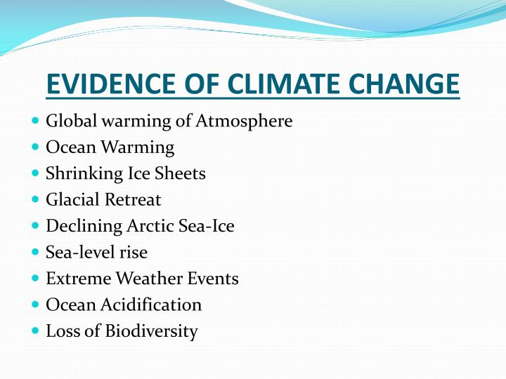 evidence for climatic and oceanographic controls