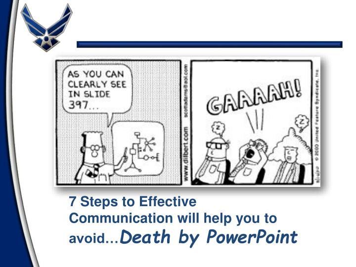 7 Steps to Effective Communication will help you to avoid…