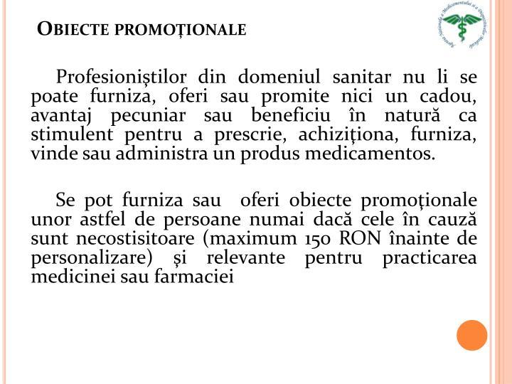 Obiecte promoţionale