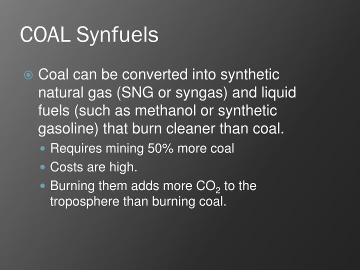 COAL Synfuels