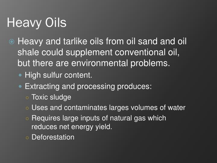 Heavy Oils