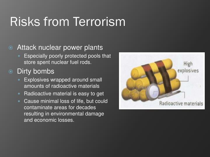 Risks from Terrorism