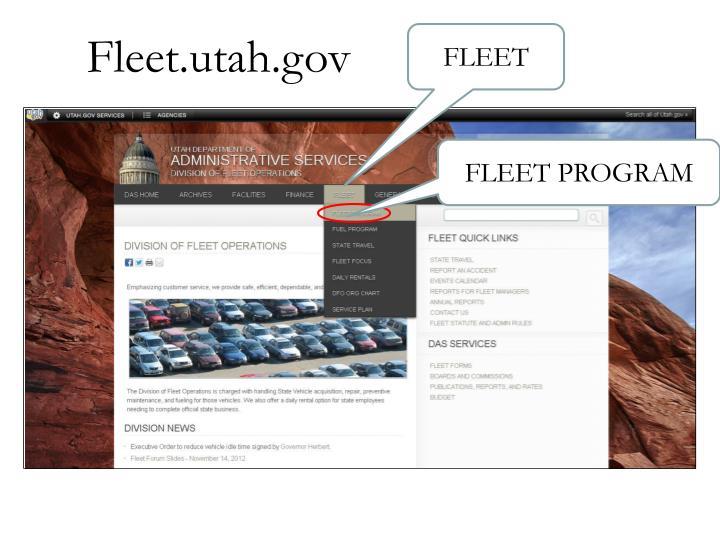 Fleet.utah.gov