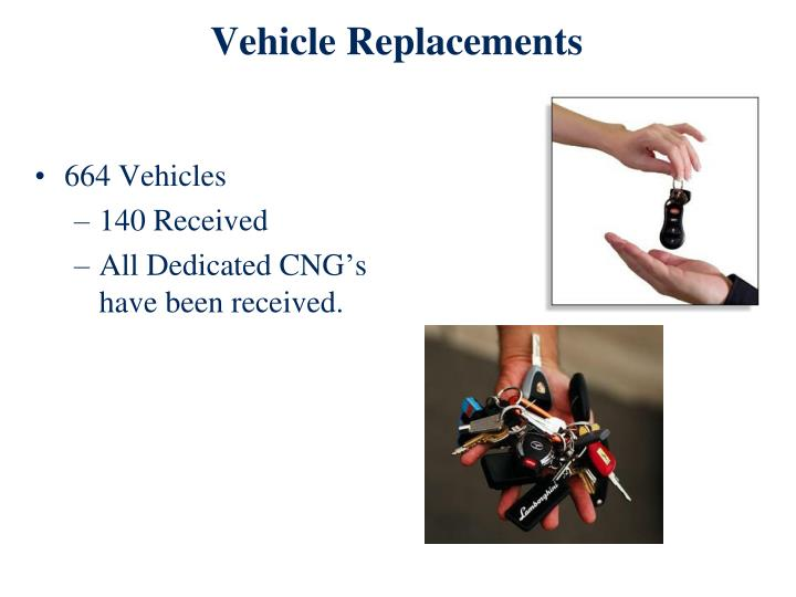 Vehicle Replacements