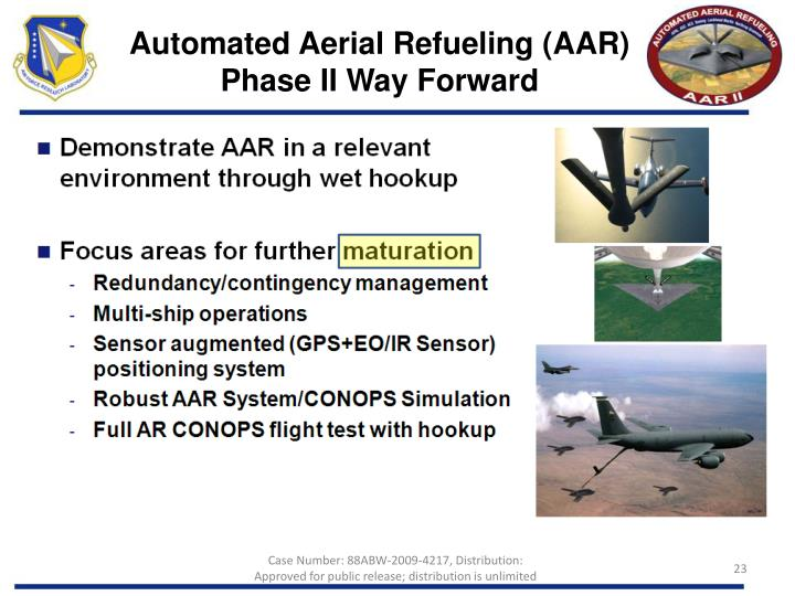 Automated Aerial Refueling (AAR)