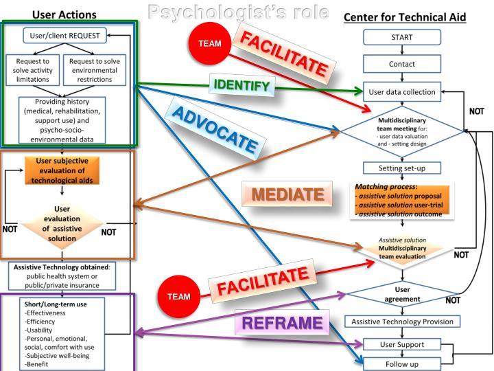 Psychologist's role