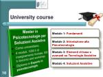 university course