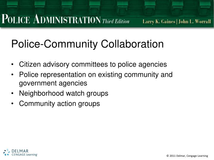 Police-Community Collaboration