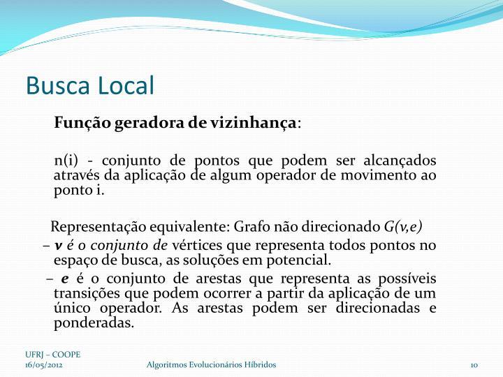 Busca Local