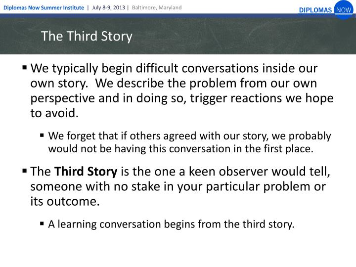 The Third Story