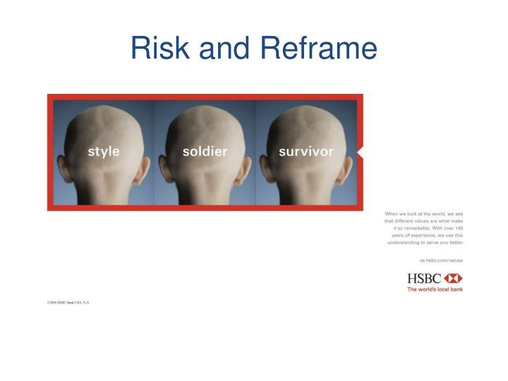 Risk and Reframe