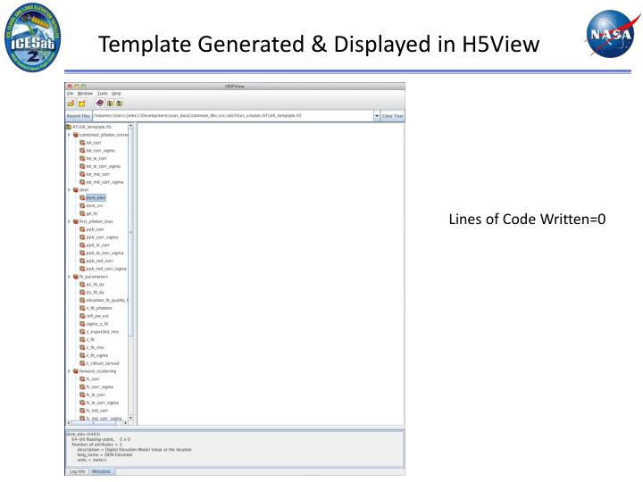 Template Generated & Displayed in H5View