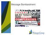 message bombardment