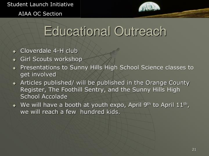 Student Launch Initiative
