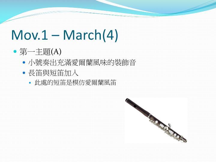 Mov.1 – March(4)