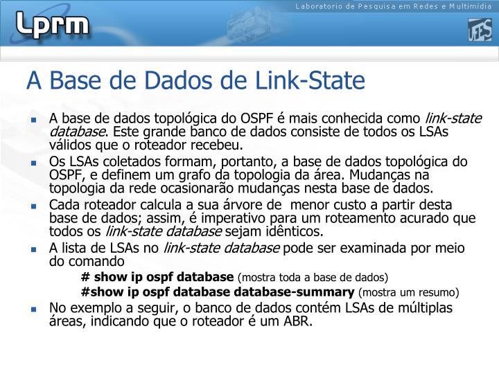 A Base de Dados de Link-State