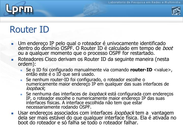 Router ID