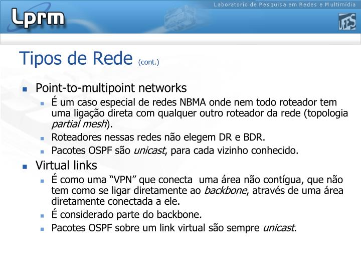 Tipos de Rede