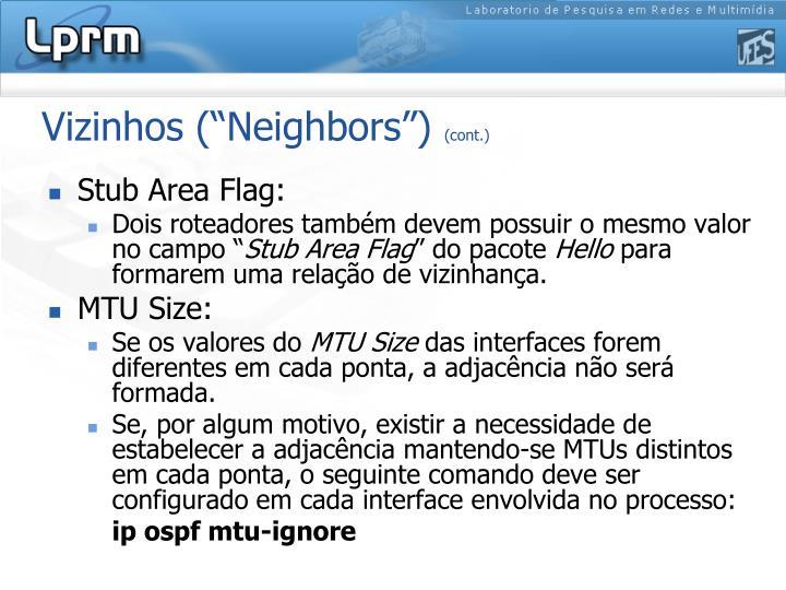 "Vizinhos (""Neighbors"")"