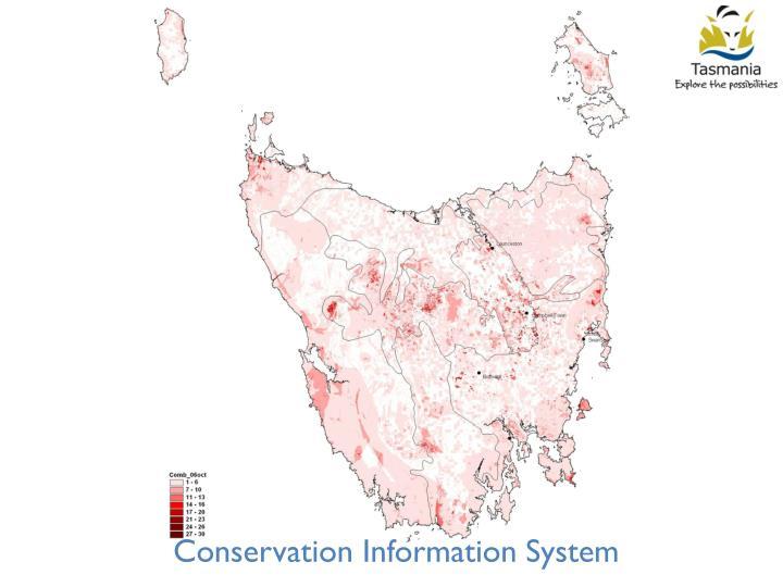 Conservation Information System
